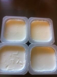 הכנת גבינה שלב ראשון