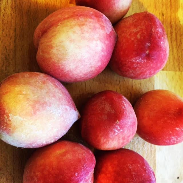 מתכון לעוגת אפרסקים אורגנים
